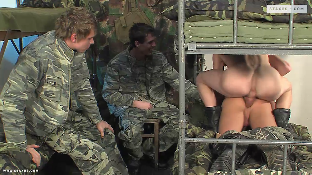 Remastered hardcore gay military porn is coming up!