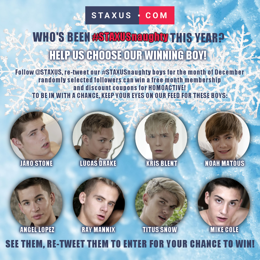 Who's been #STAXUSnaughty this year? You decide, and you can win too!