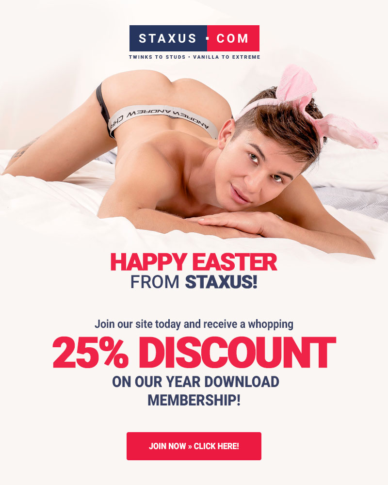 Happy Easter! Here, have a discount membership!
