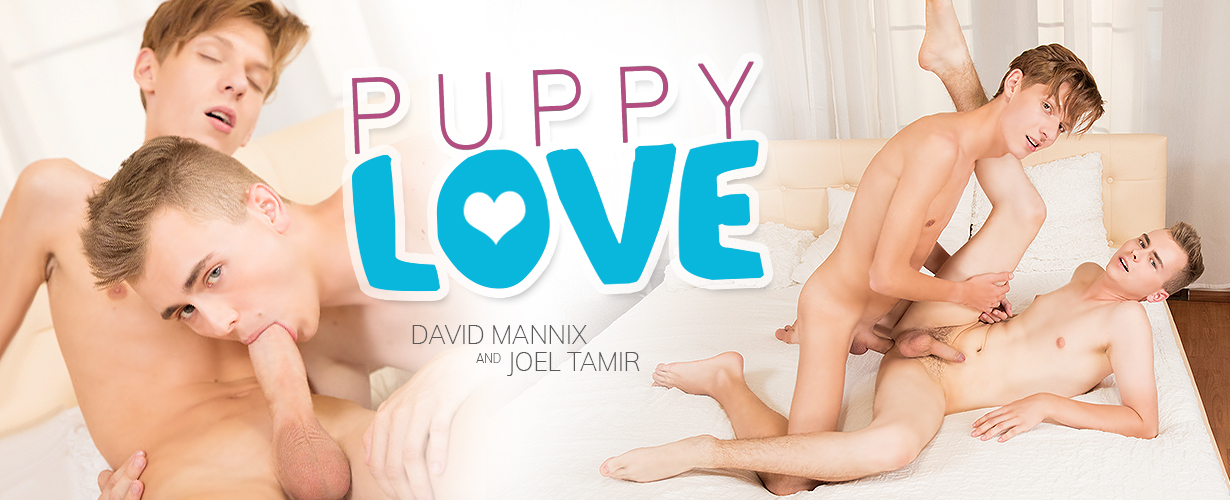 Coming Soon On Staxus: Puppy Love Turns Into A Hard Teen Fuck For Joel's Monster Dick!